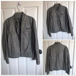 Kenneth Cole REACTION Moto Jacket 🏍 NWOT